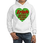 Irish Leprechaun With Golden Hooded Sweatshirt