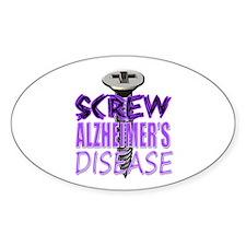 Screw Alzheimer's Disease Decal
