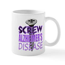 Screw Alzheimer's Disease Mug