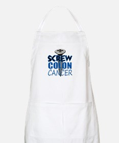 Screw Colon Cancer Apron