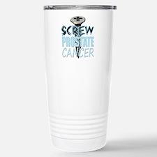 Screw Prostate Cancer Travel Mug