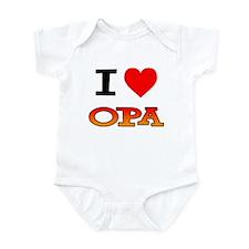 I Love Opa Infant Bodysuit