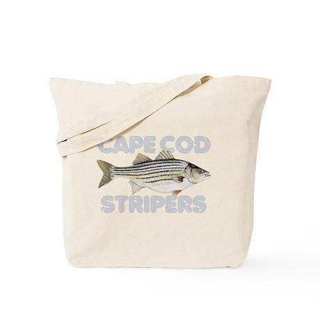 Cape Cod Stripers Tote Bag
