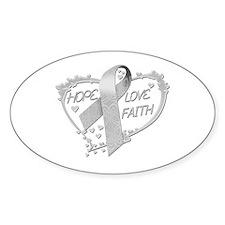 Hope Love Faith Decal