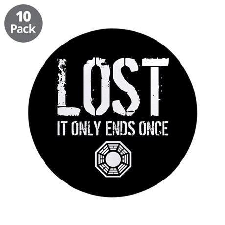 "Lost Ends 3.5"" Button (10 pack)"