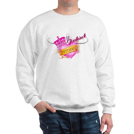 REDNECK PRINCESS (HEART) Sweatshirt