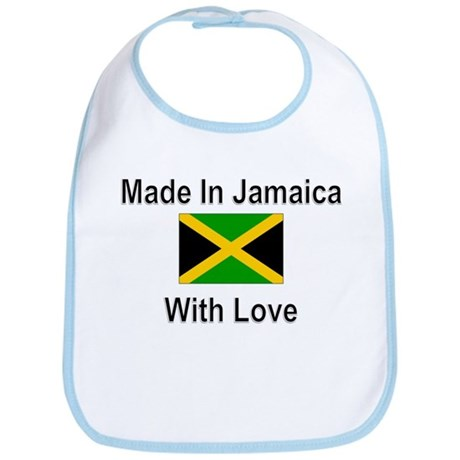 Made in Jamaica with Love Bib