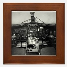 C-47 Cockpit Framed Tile