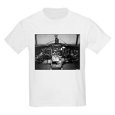 C-47 Cockpit Kids T-Shirt