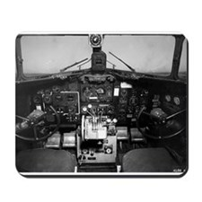 C-47 Cockpit Mousepad