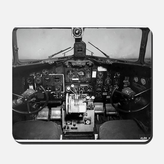 C-47 Cockpit Mousepad