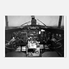 C-47 Cockpit Postcards (Package of 8)