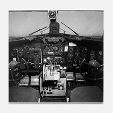 C-47 Cockpit Tile Coaster