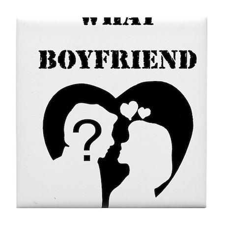 What Boyfriend Tile Coaster