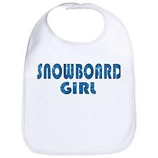 Snowboard Girl Bib