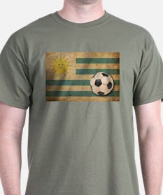 Vintage Uruguay Football T-Shirt
