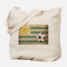 Vintage Uruguay Football Tote Bag