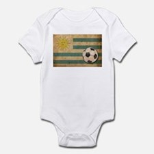 Vintage Uruguay Football Infant Bodysuit