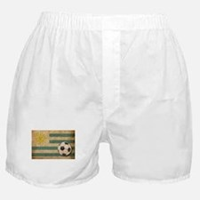 Vintage Uruguay Football Boxer Shorts