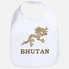 Vintage Bhutan Bib
