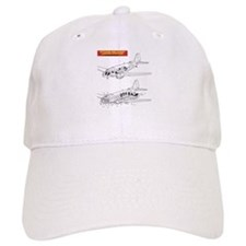 C-47 Ditching Stations Baseball Cap