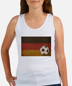 Vintage Germany Football Women's Tank Top