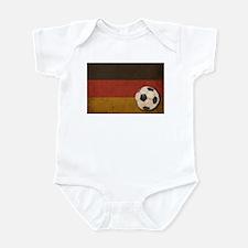 Vintage Germany Football Infant Bodysuit