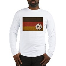 Vintage Germany Football Long Sleeve T-Shirt