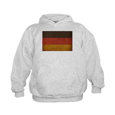 Vintage Germany Flag Kids Hoodie