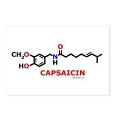 Molecularshirts.com Capsaicin Postcards (Package o