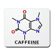 Molecularshirts.com Caffeine Mousepad