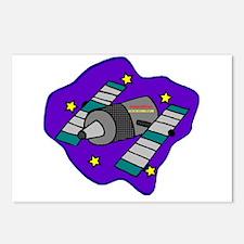 Cartoon Satelite Postcards (Package of 8)