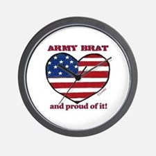 Army Brat Wall Clock