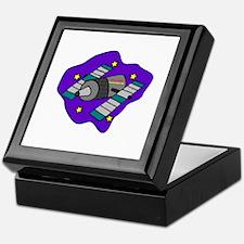 Cartoon Satelite Keepsake Box