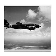 C-47 In Flight Tile Coaster