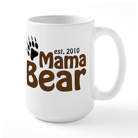 Mama Bear Claw 2010 Large Mug