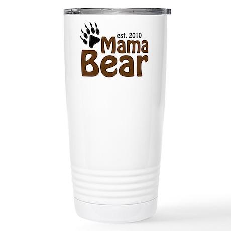 Mama Bear Claw 2010 Stainless Steel Travel Mug