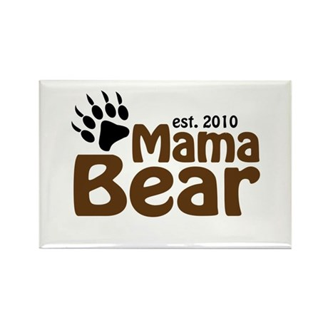 Mama Bear Claw 2010 Rectangle Magnet (100 pack)