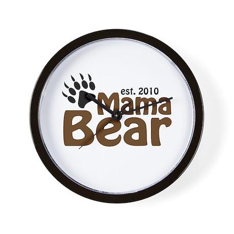Mama Bear Claw 2010 Wall Clock