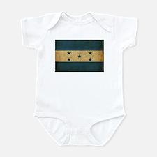 Vintage Honduras Flag Infant Bodysuit