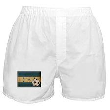 Vintage Honduras Football Boxer Shorts