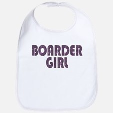Boarder Girl Bib