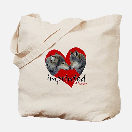 Imprinted 4 Ever Wolves Tote Bag