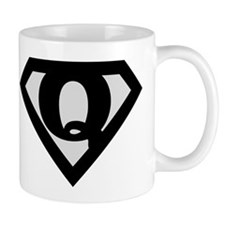Super Black Q Mug