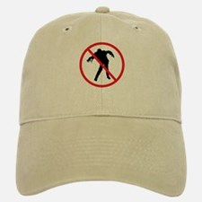 No Zombies Baseball Baseball Cap