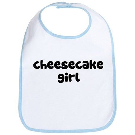 Cheesecake Girl Bib