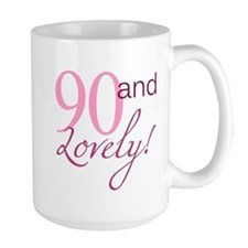 90 And Lovely Mug