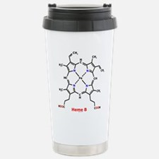 Molecularshirts.com Heme Stainless Steel Travel Mu