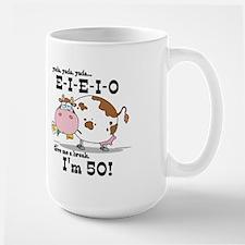 EIEIO 50th Birthday Mug