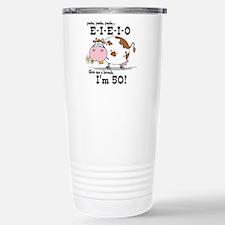 EIEIO 50th Birthday Travel Mug